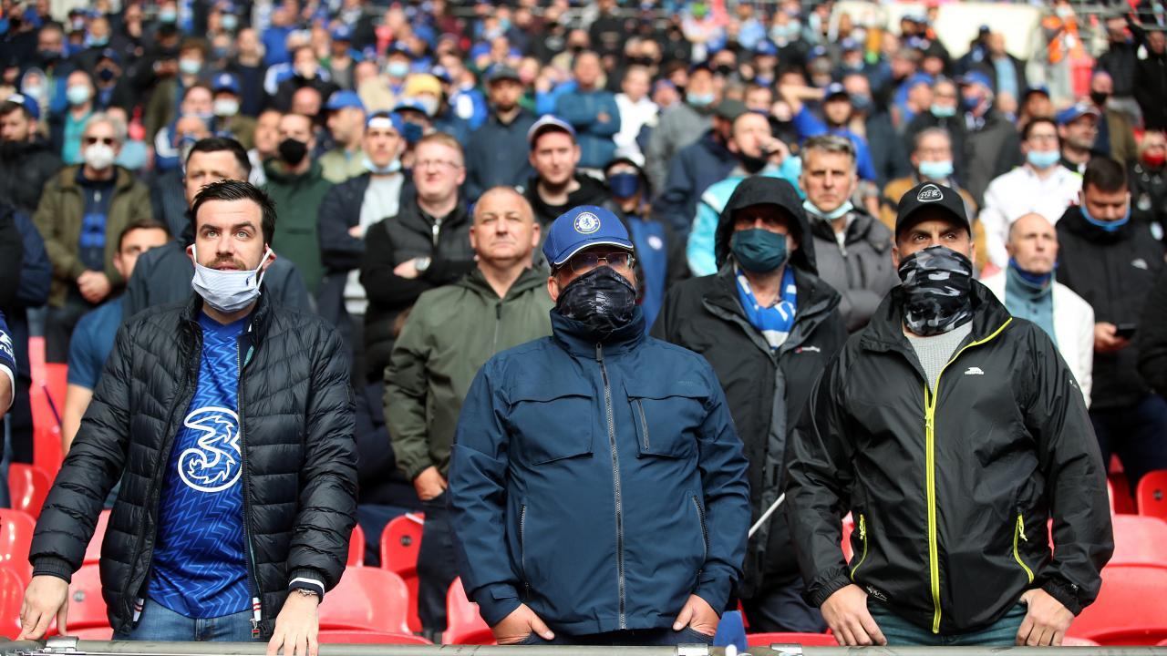 Sad Chelsea Fans
