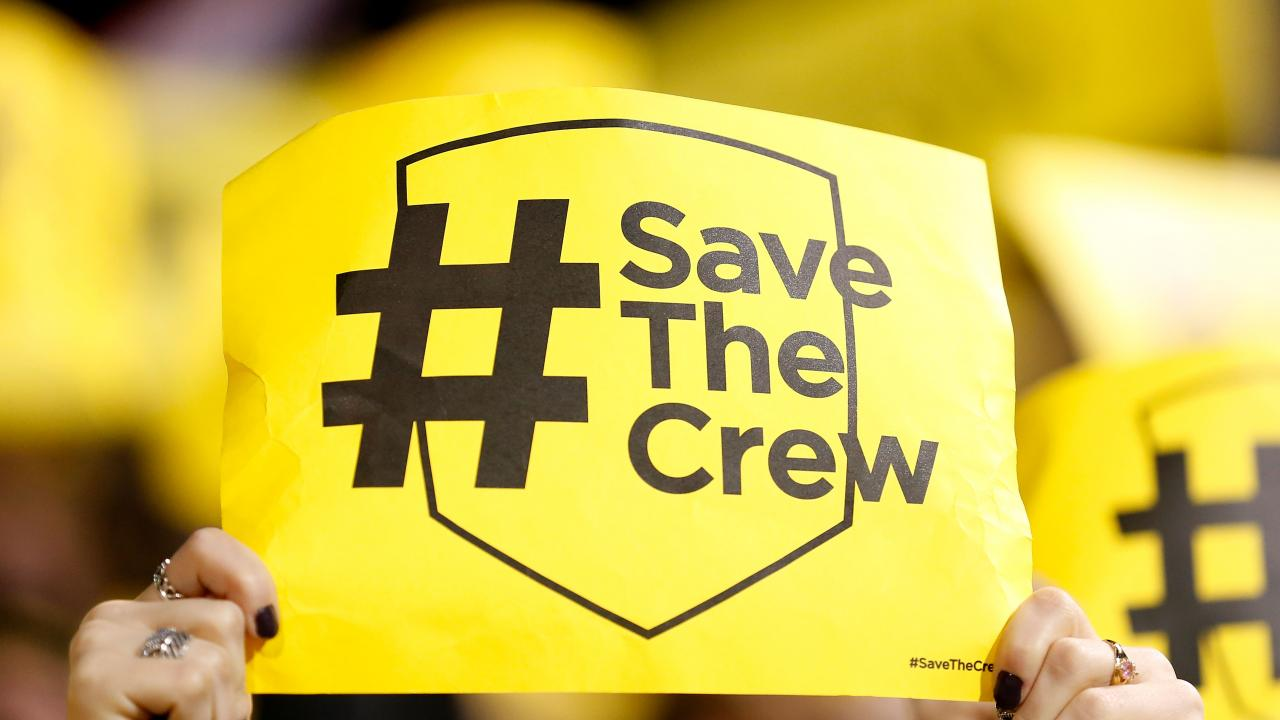 A Columbus Crew updated logo is in the works as the Crew name was saved once again.