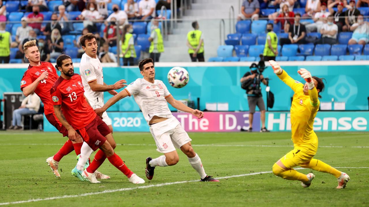 Yann Sommer Save vs Spain