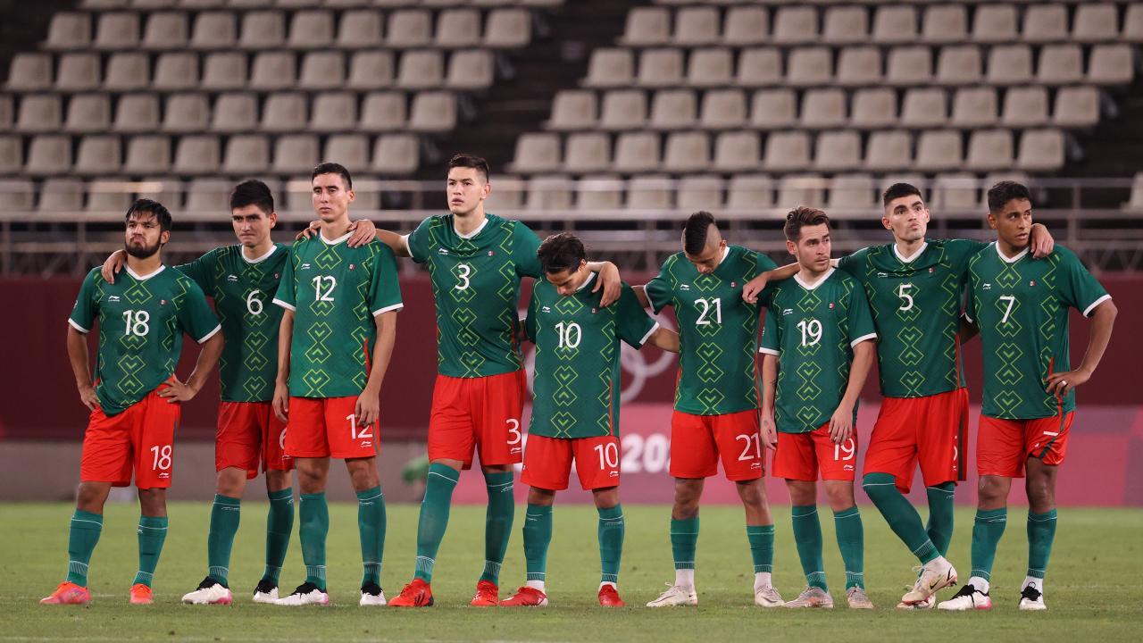 Mexico Vs Brazil Olympics