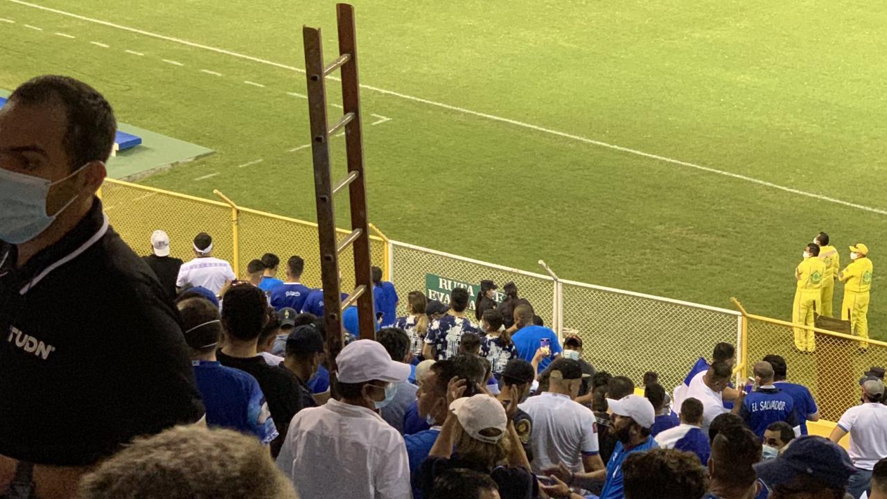 Concacaf Ladder at USA-El Salvador Game