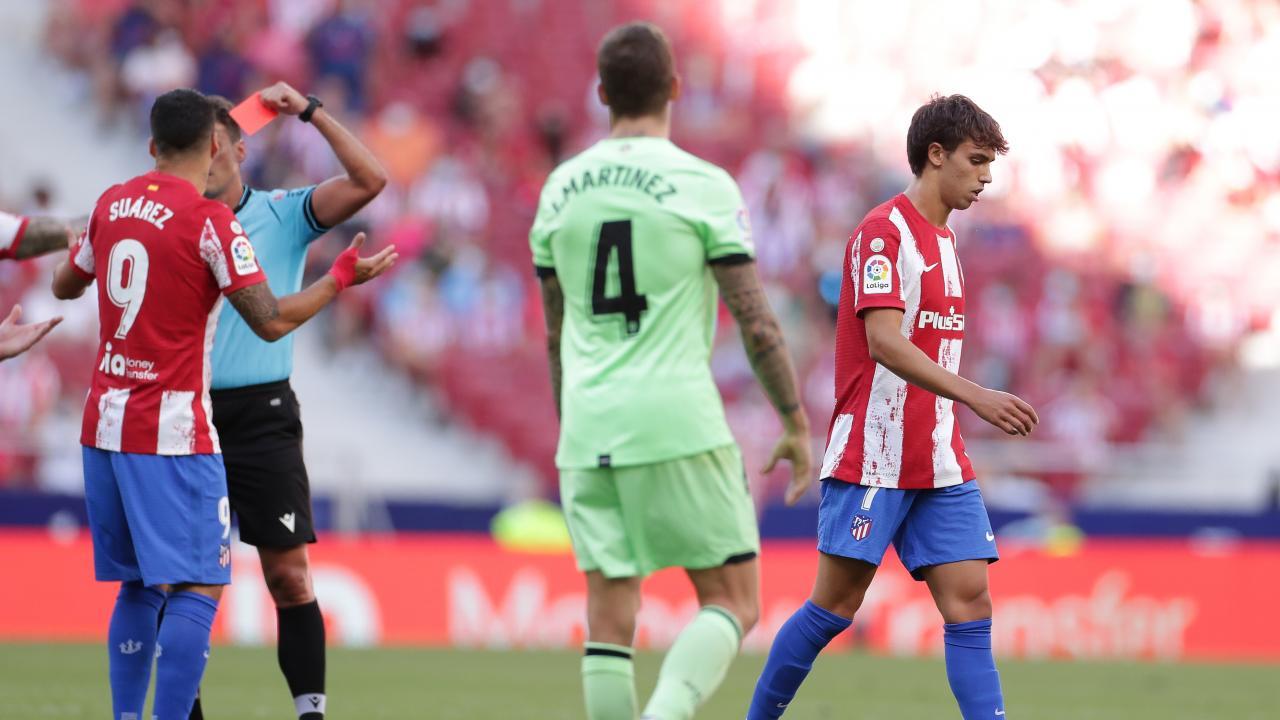 João Félix Red Card vs Athletic Bilbao
