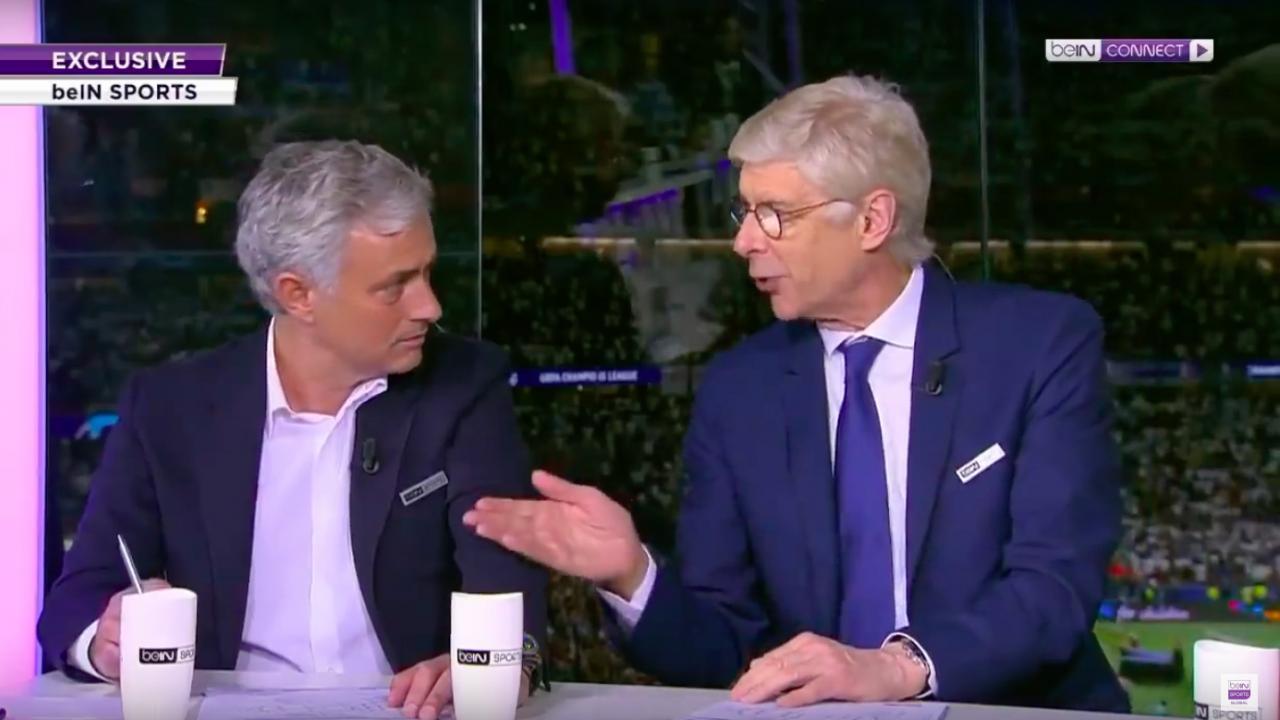 Arsene Wenger and Jose Mourinho punditry