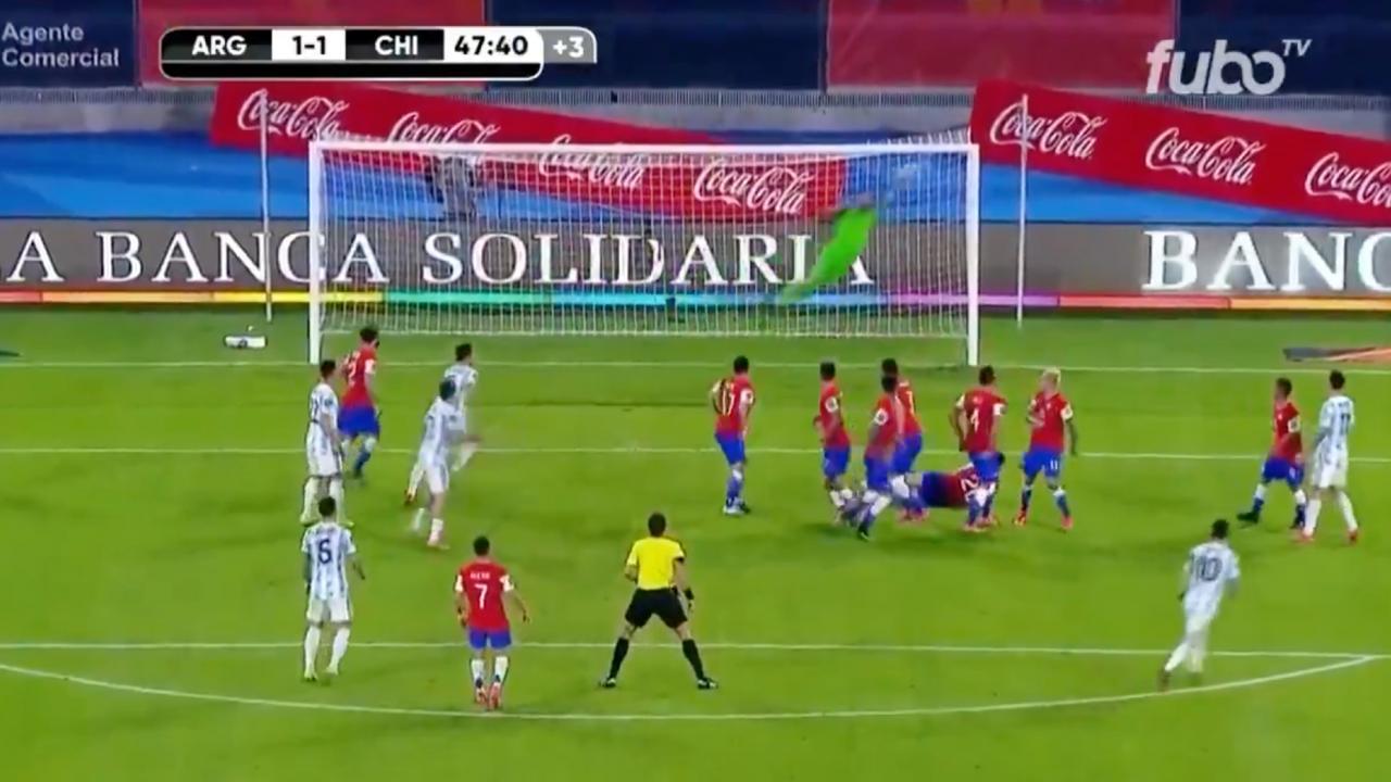 Resumen Argentina vs Chile
