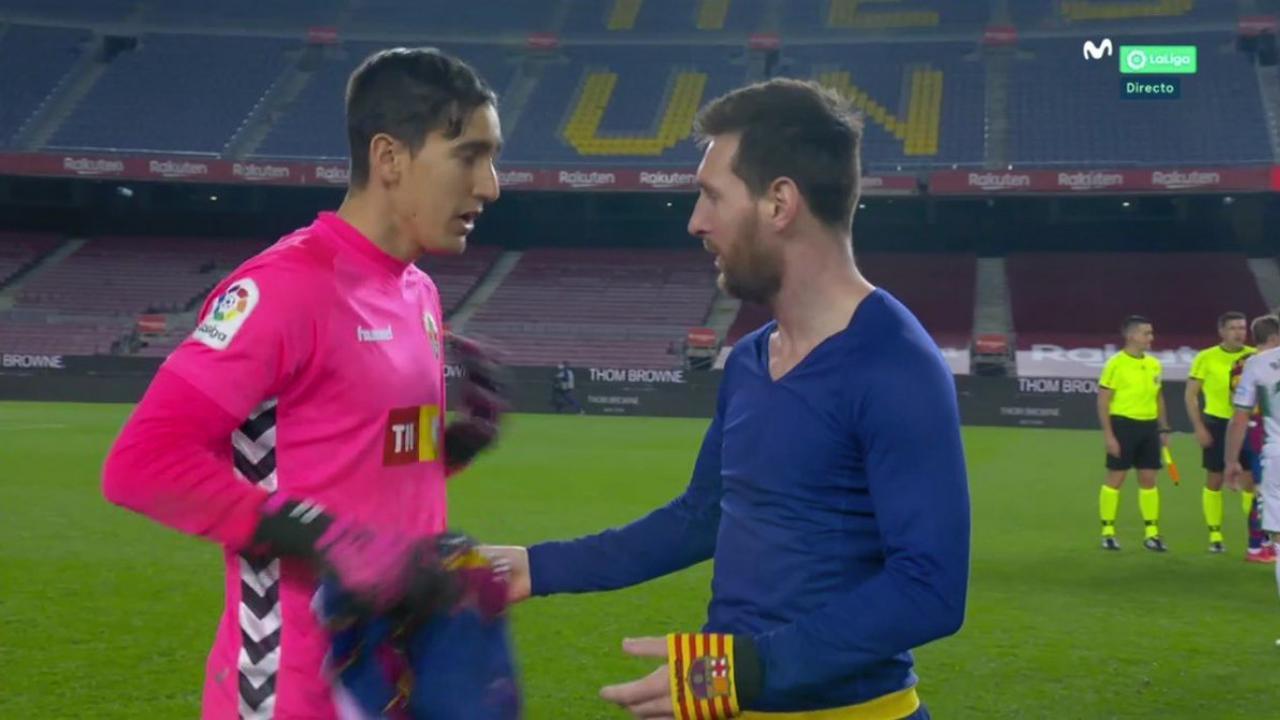 Messi camiseta