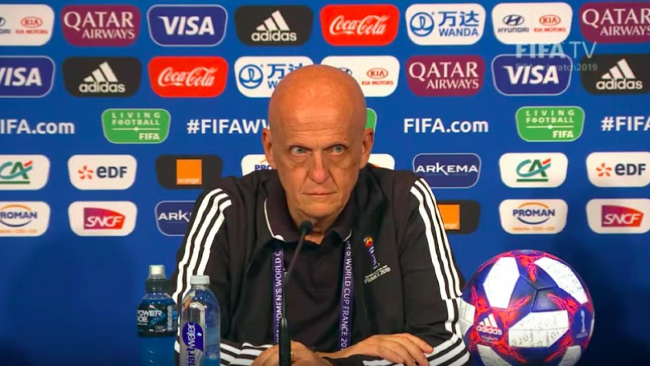 Pierluigi Collina quotes from 2019 WWC