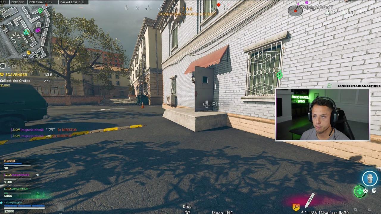 Chicharito en Call of Duty Warzone