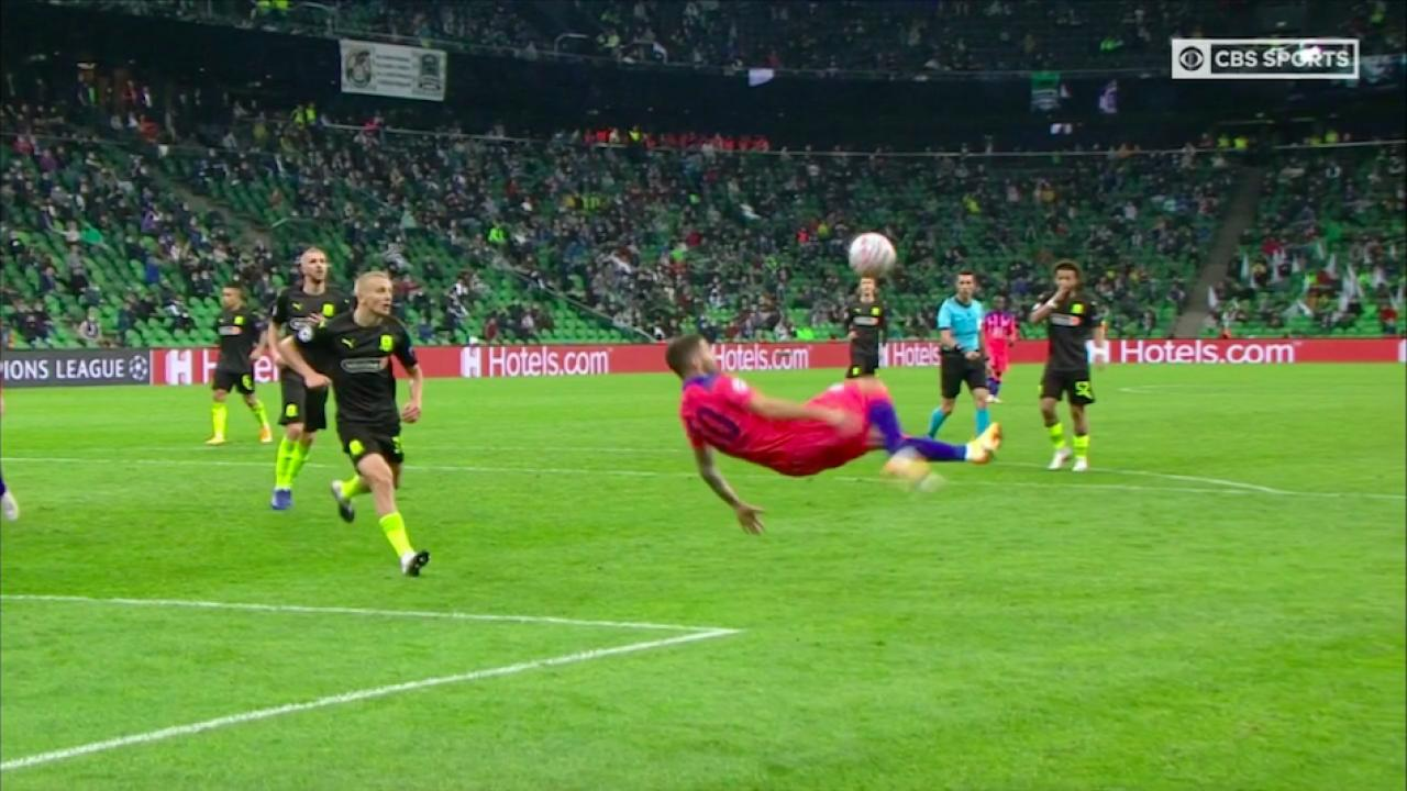 Christian Pulisic vs Krasnodar