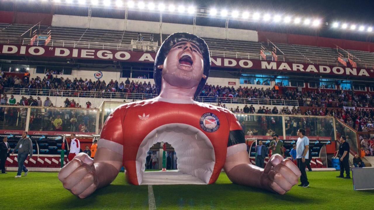 Diego Maradona Inflatable tunnel