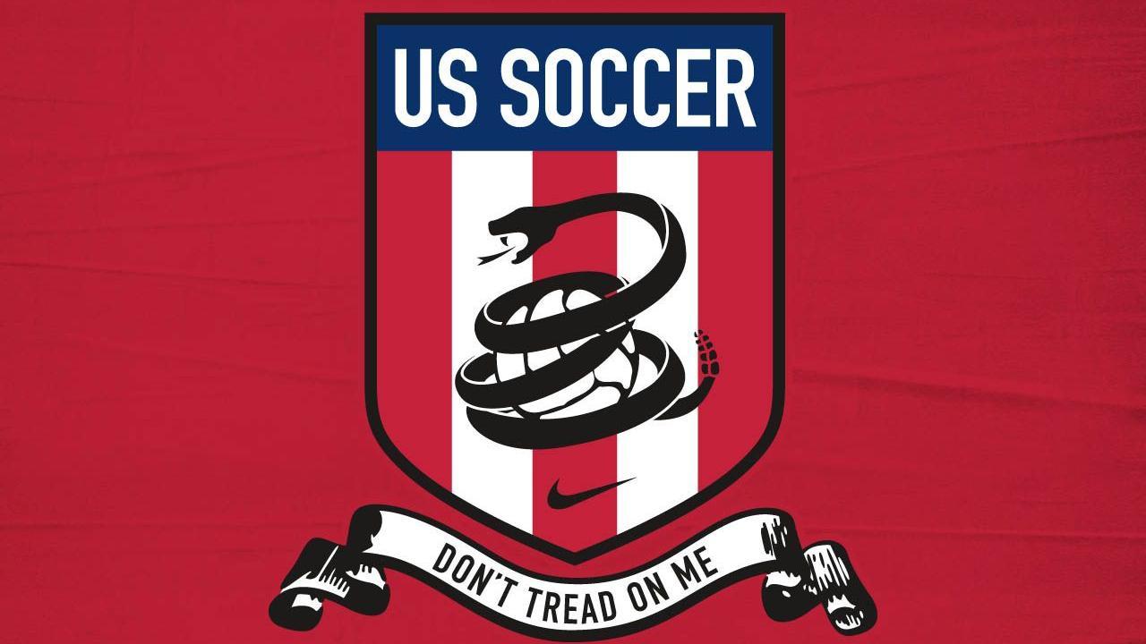 """Don't Tread On Me"" US Soccer flag"