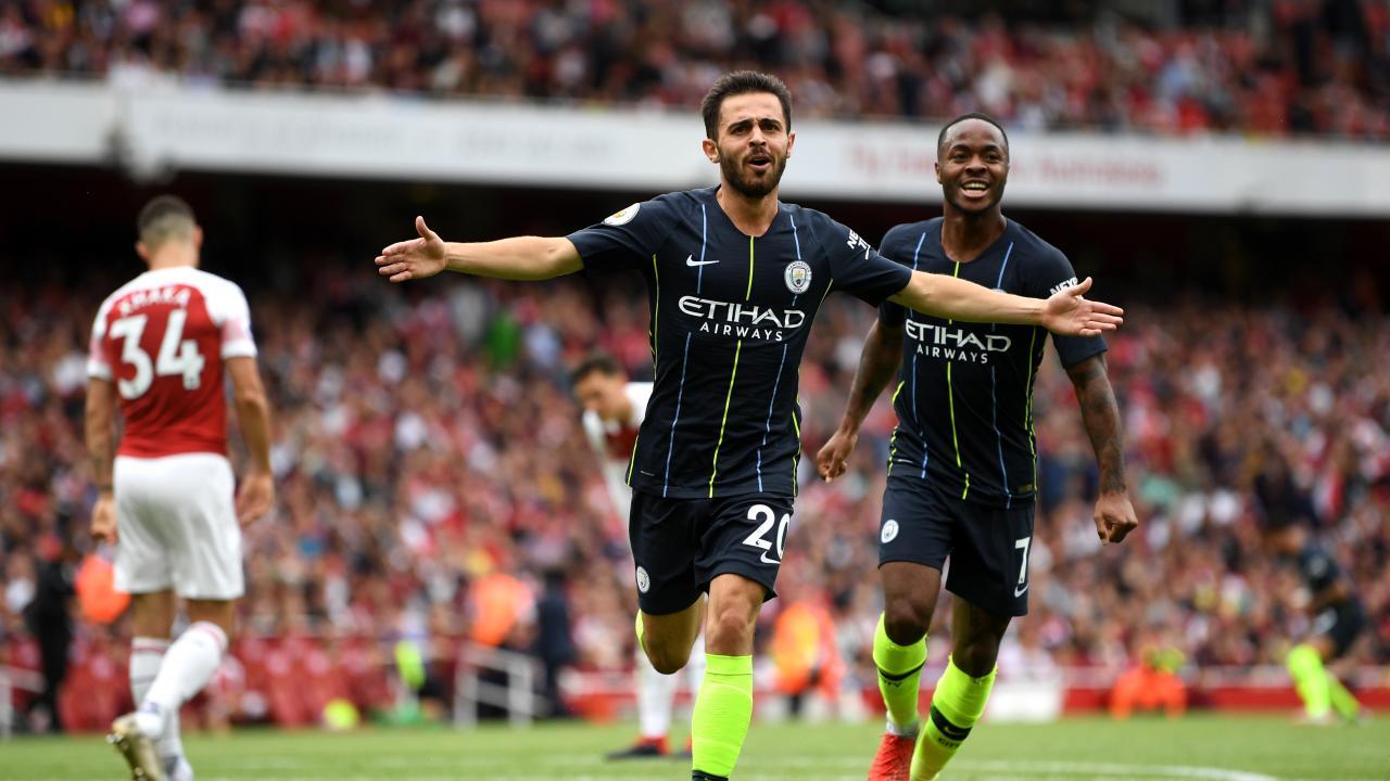 Man City vs Arsenal highlights