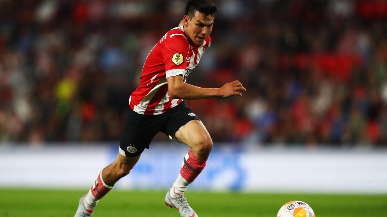 Chucky Lozano PSV goal