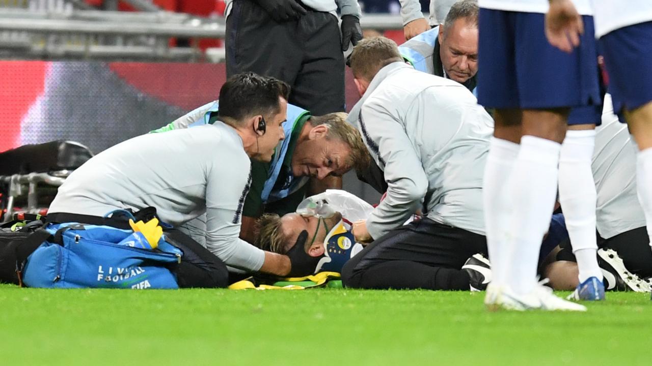 Luke Shaw head injury