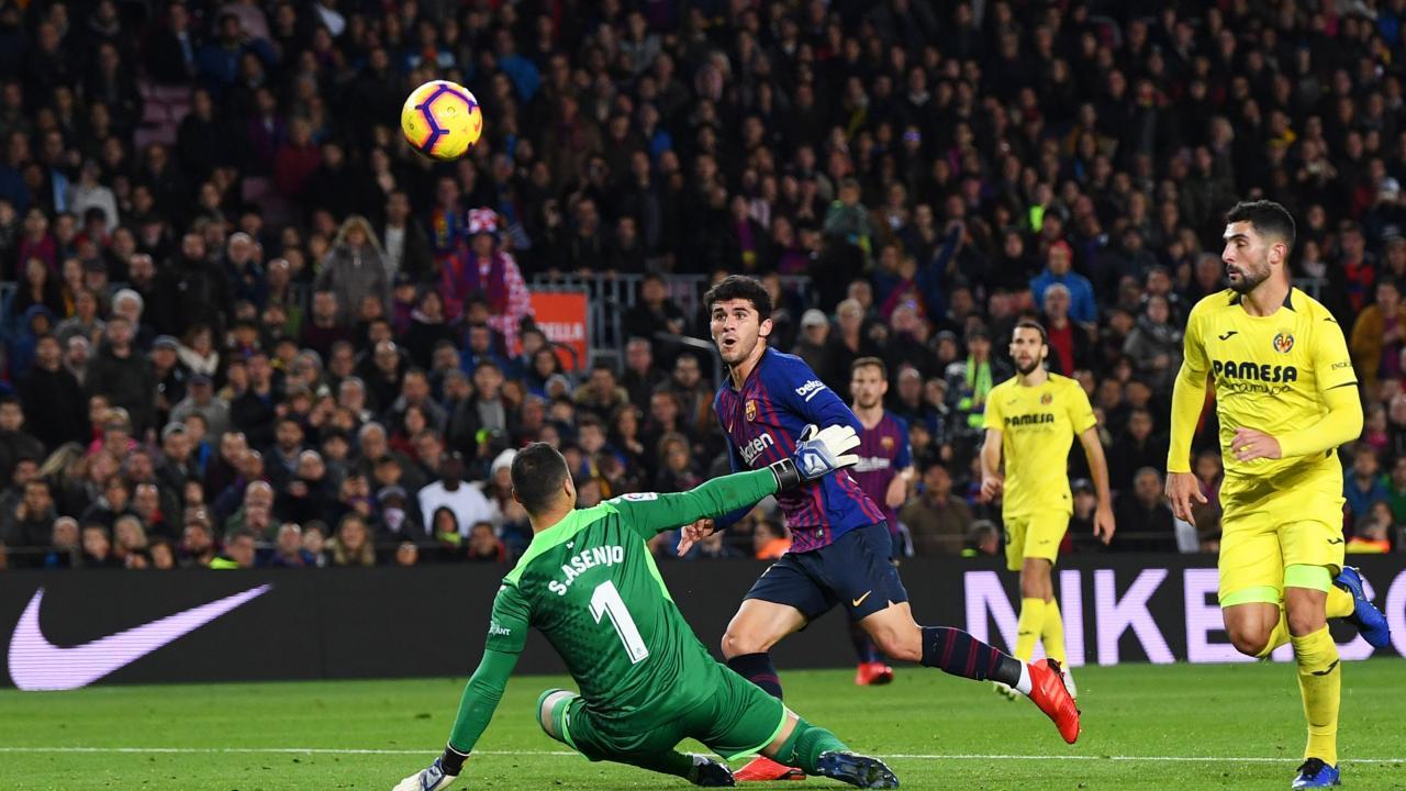 Carles Alena goal vs Villarreal