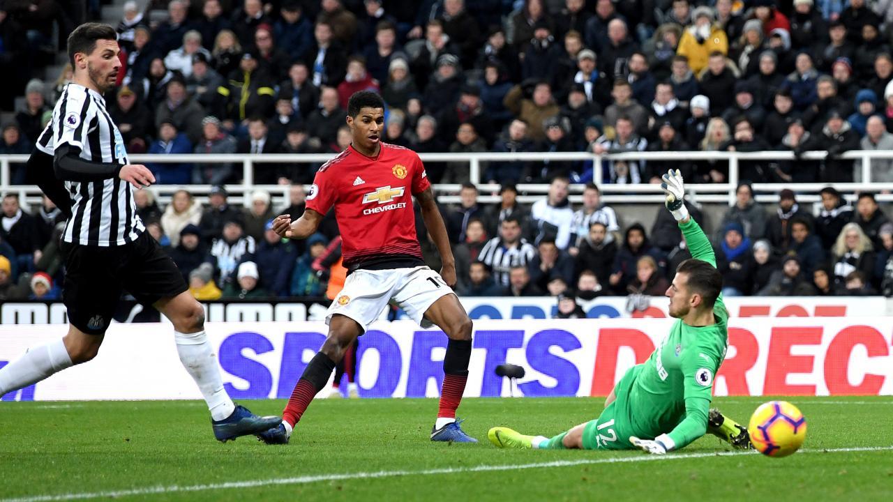 Marcus Rashford goal vs Newcastle 2019