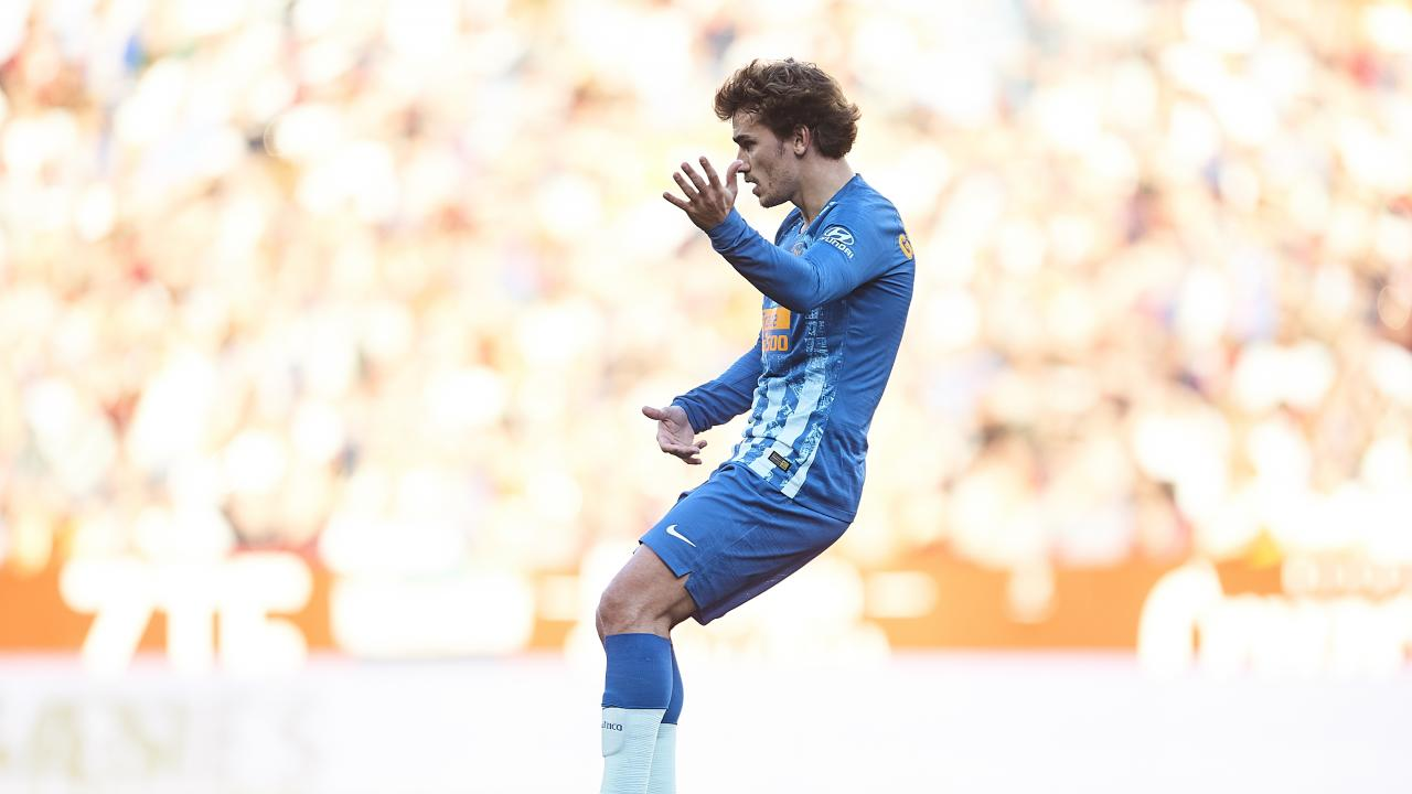 Antoine Griezmann free kick vs Sevilla
