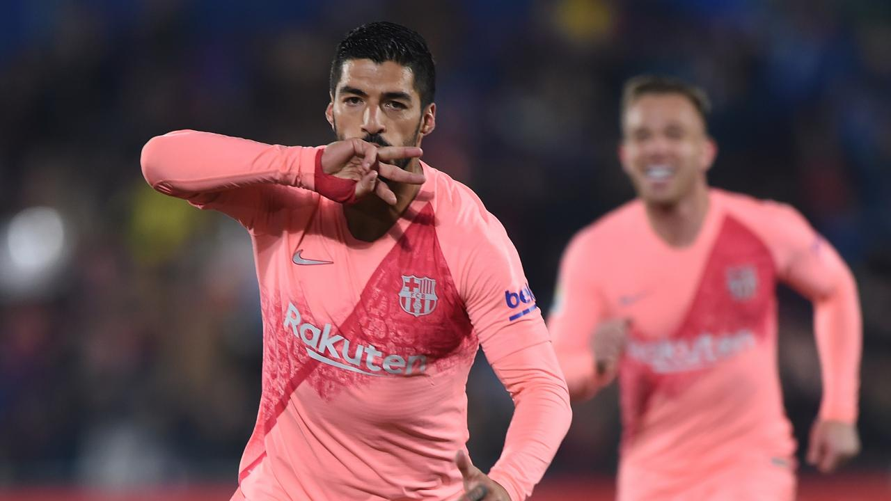 Luis Suarez goal vs Getafe