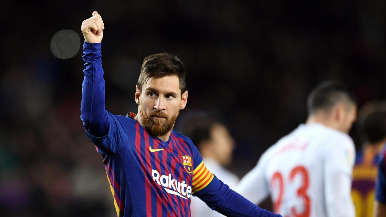 Lionel Messi 400th league goal