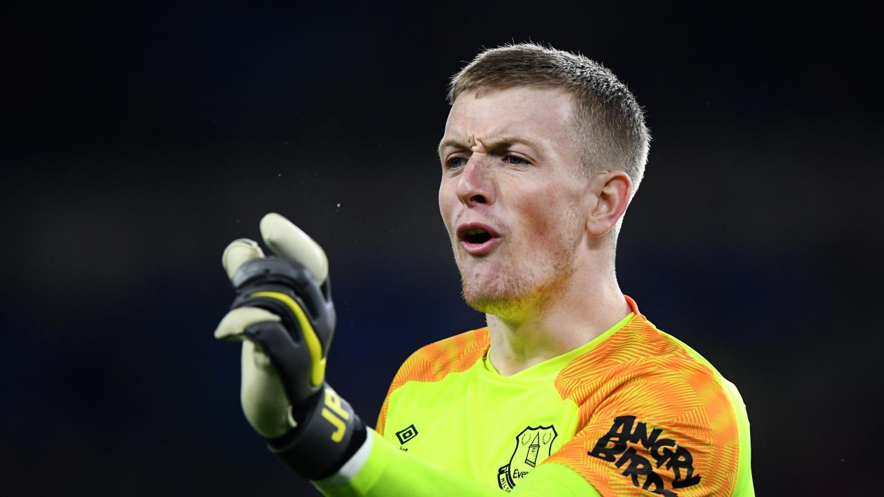 Jordan Pickford fight