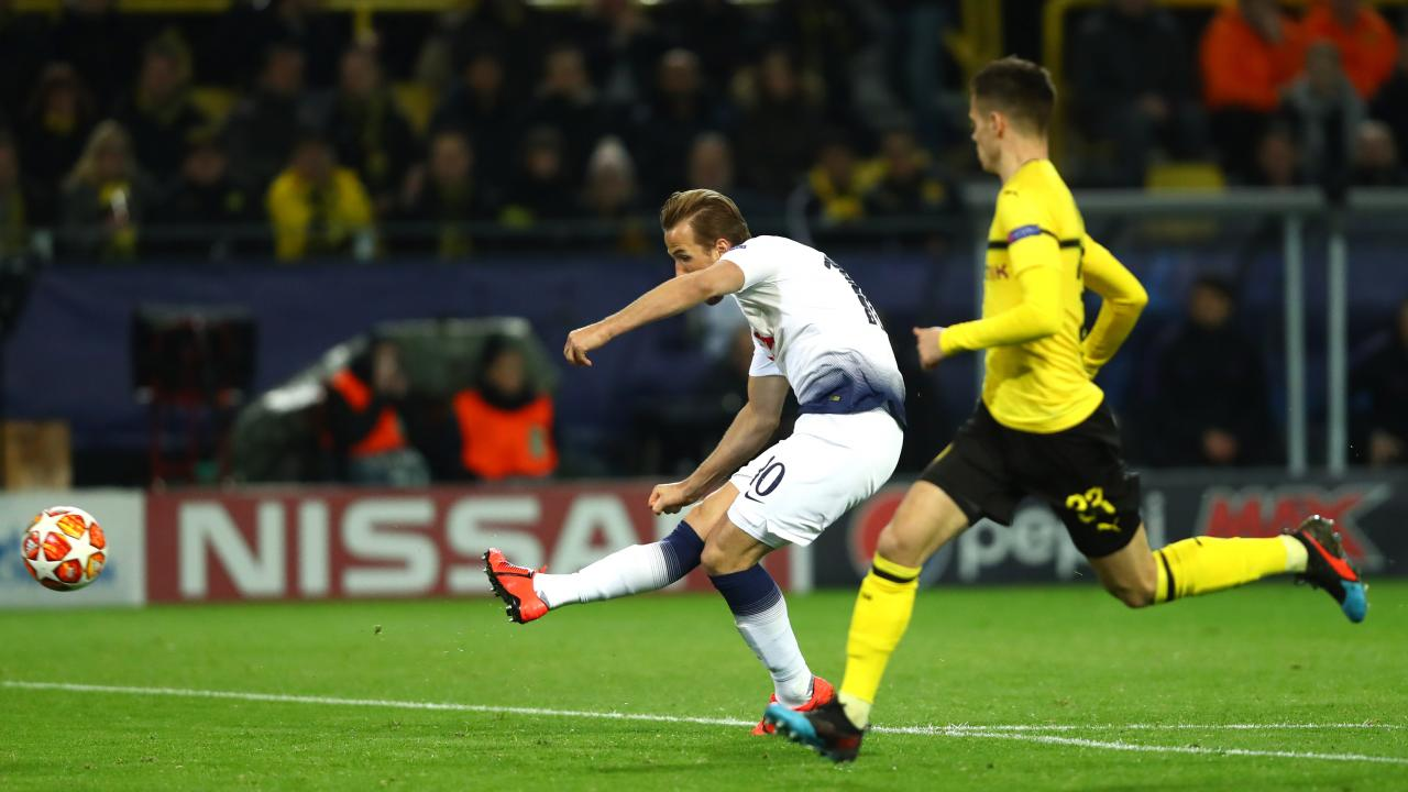 Harry Kane goal vs Borussia Dortmund