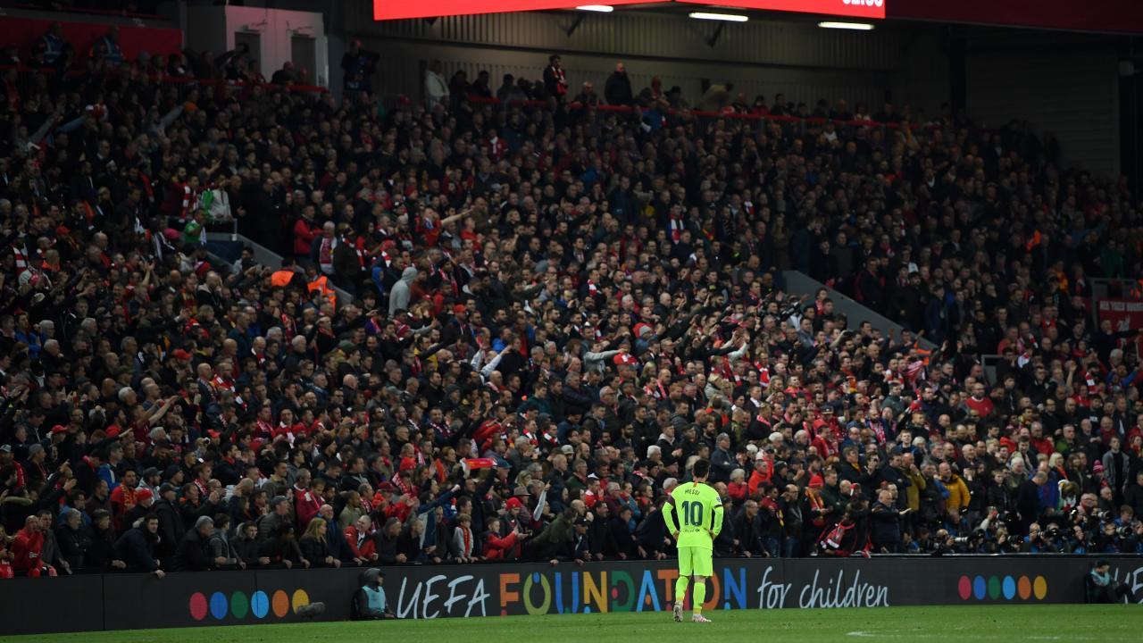 Lionel Messi vs Liverpool