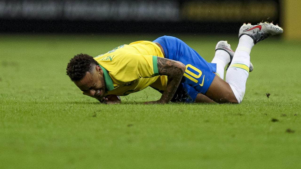 Neymar injury video 2019