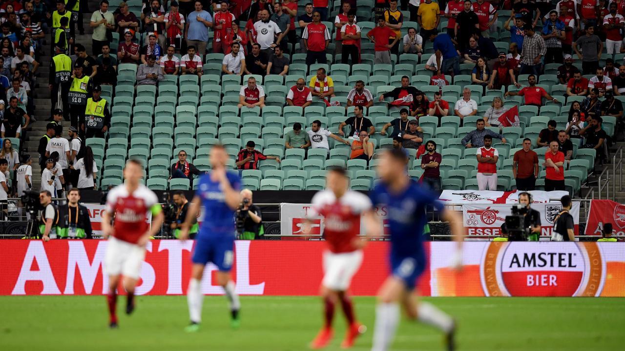 2019 Europa League final attendance
