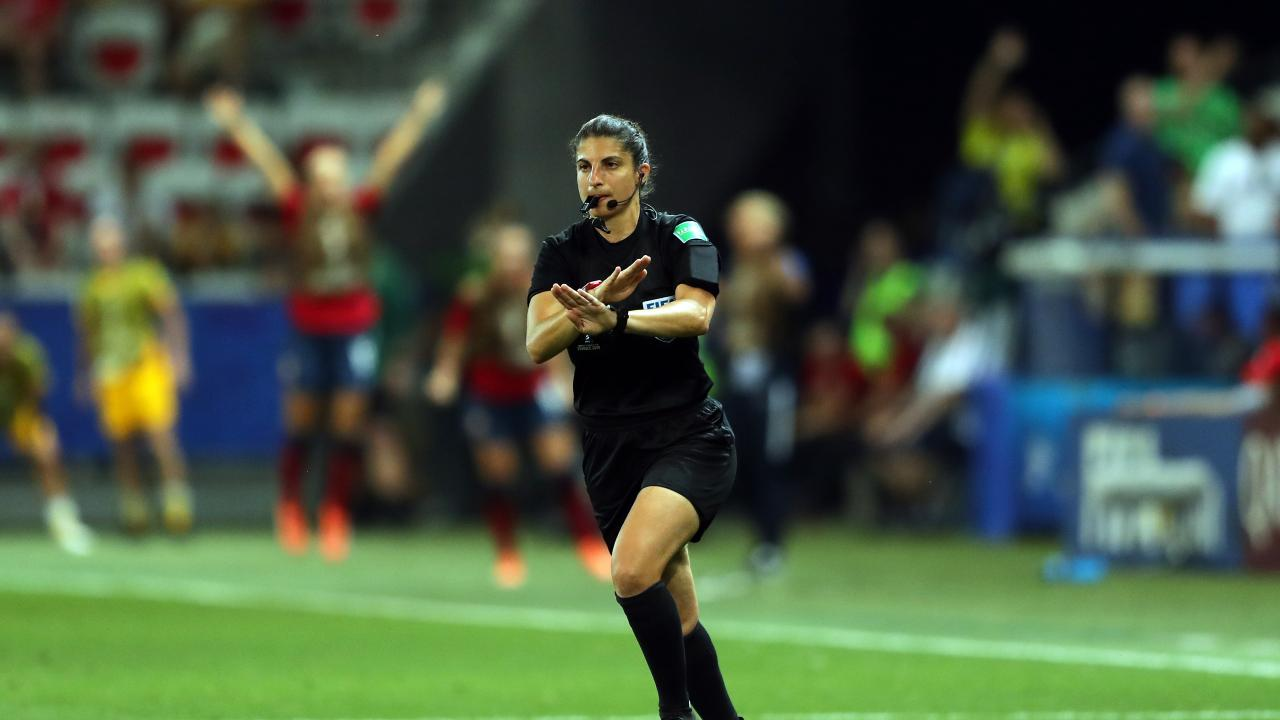 Árbitro Final Champions League Femenina