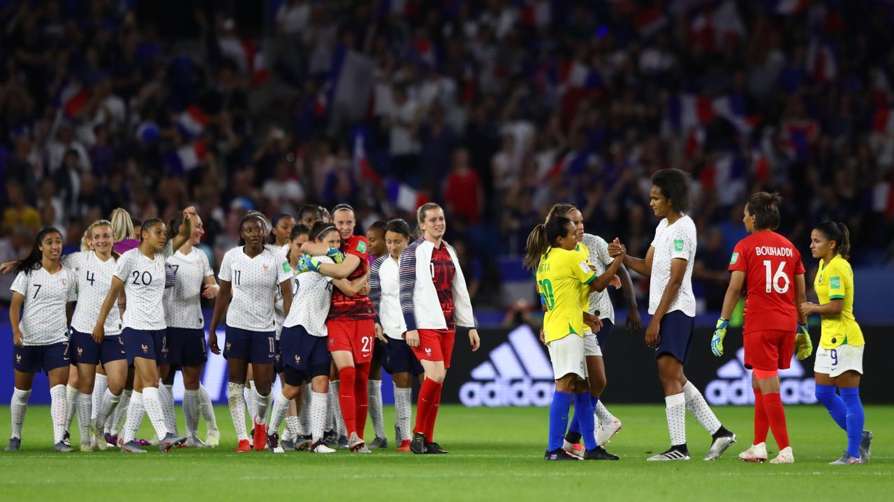 France vs Brazil womens world cup