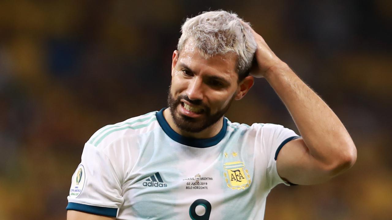 Sergio Aguero FIFA miss