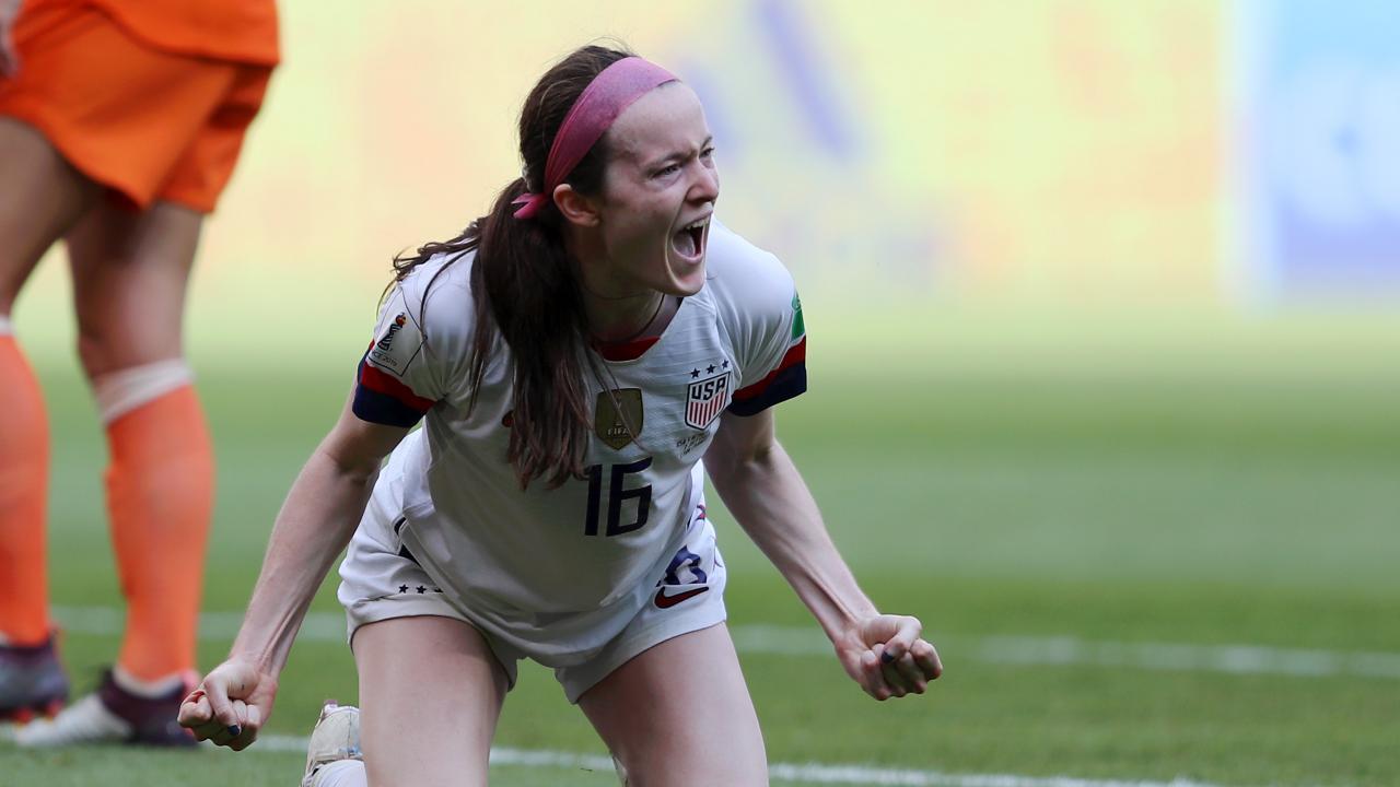 Rose Lavelle Goal vs Netherlands