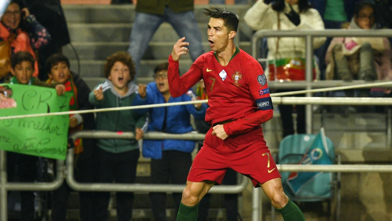 Cristiano Ronaldo Portugal goals