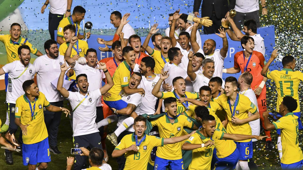 Mexico vs Brazil 2019 U-17 World Cup final