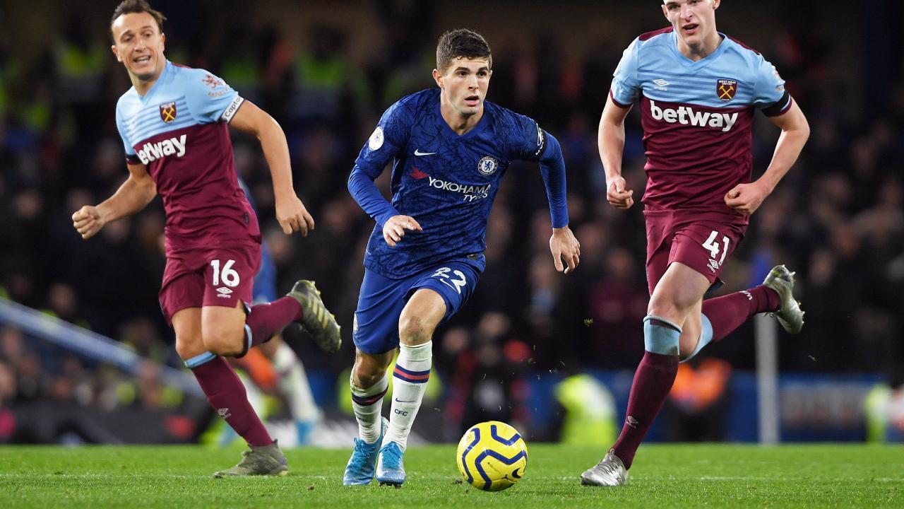 Christian Pulisic Chelsea debut