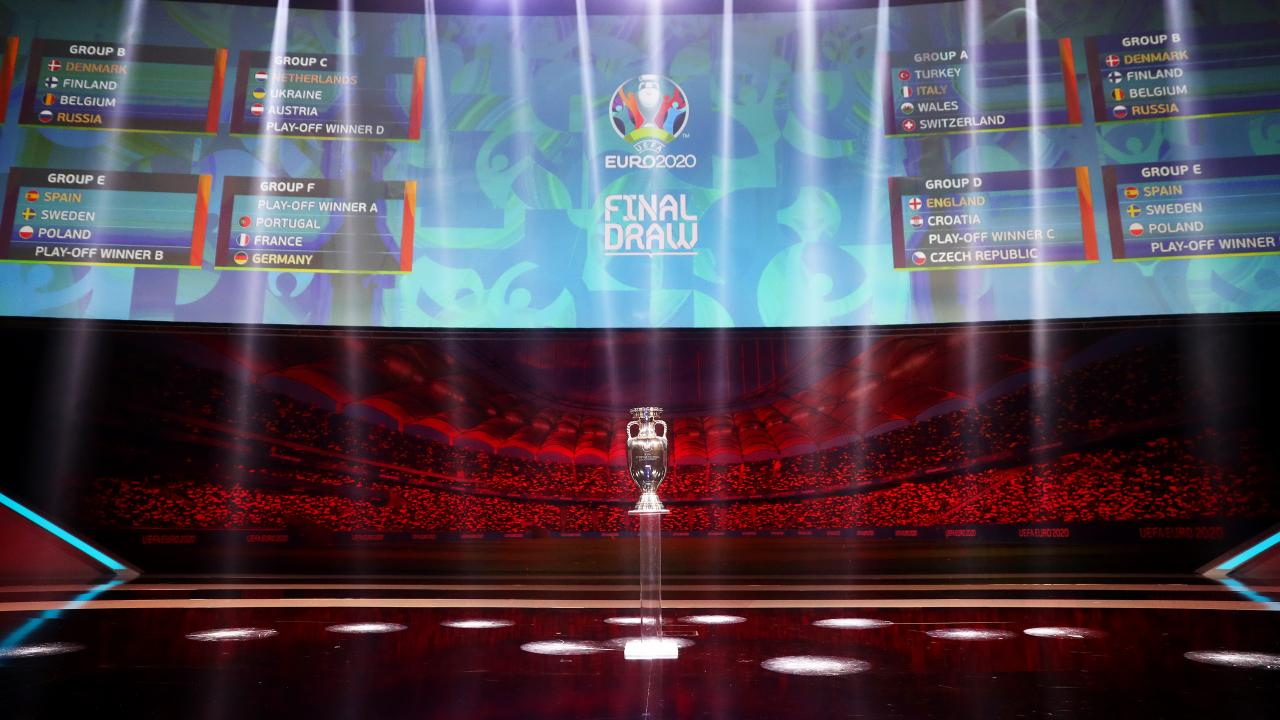 Euro 2020 coronavirus football