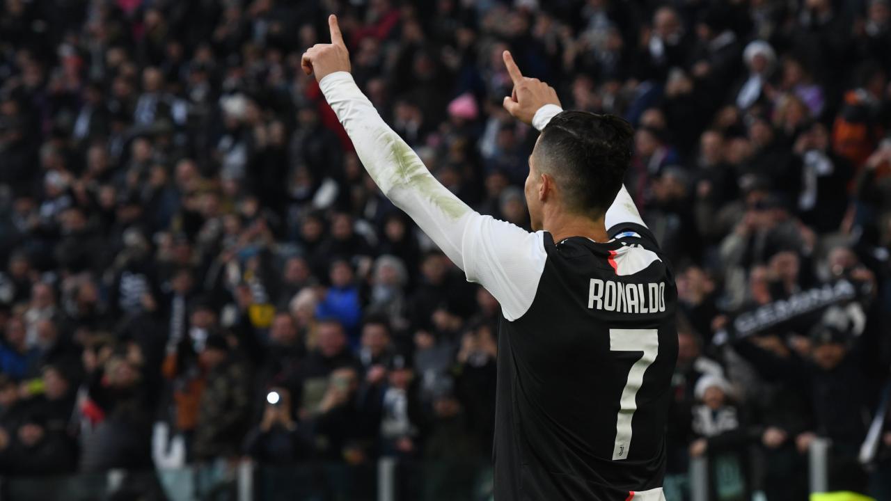 Cristiano Ronaldo hat-trick vs Cagliari