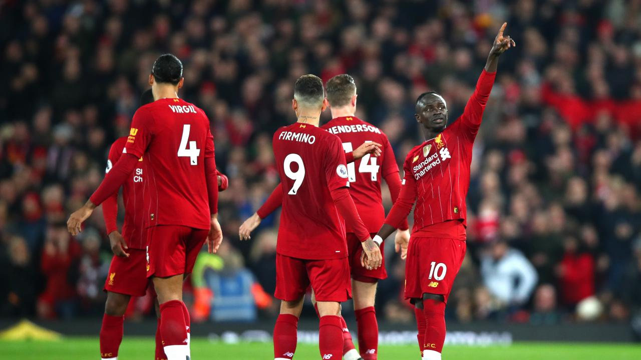 Liverpool home form