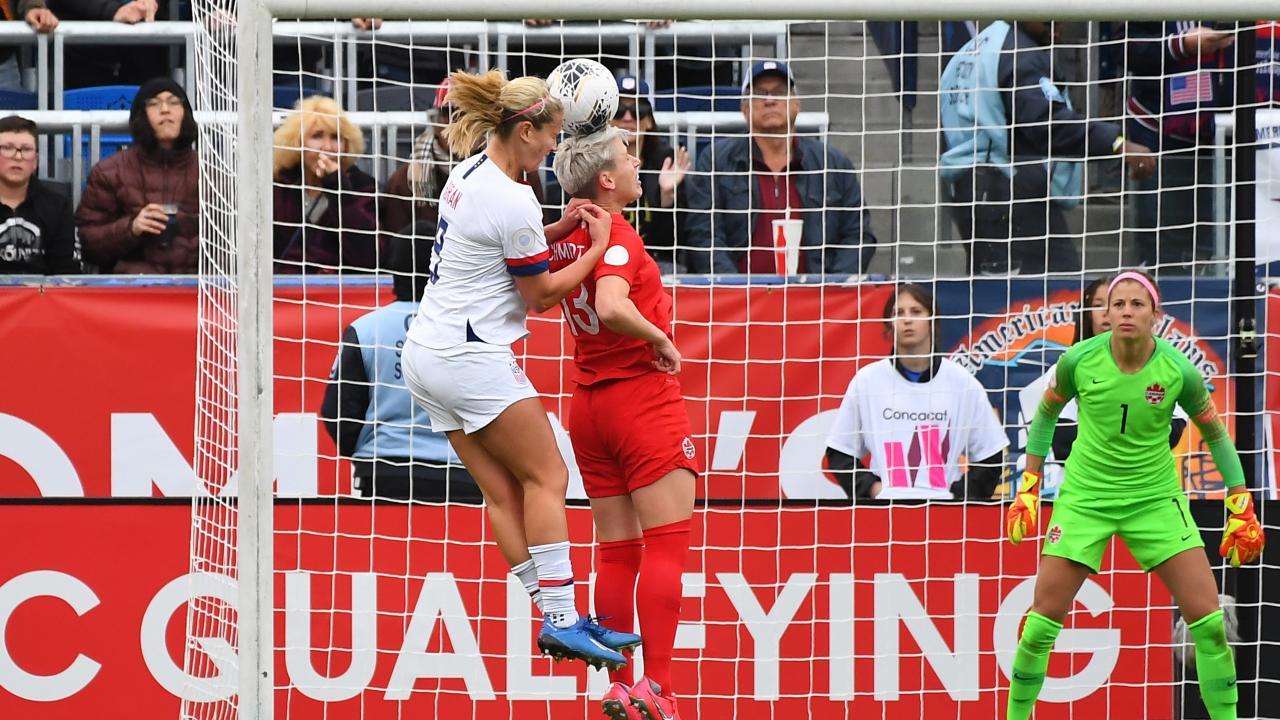 Lindsey Horan goal vs Canada
