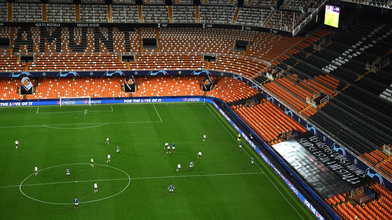 Valencia vs Atalanta Closed Doors