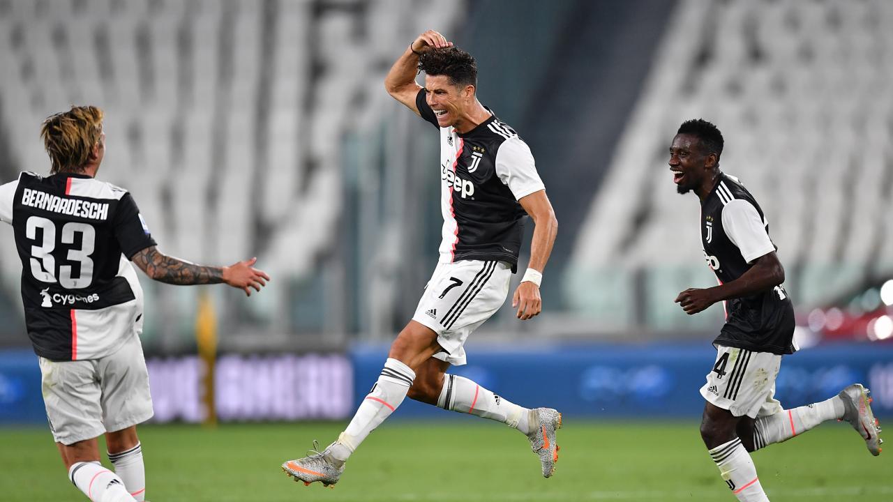 Cristiano Ronaldo goal vs Sampdoria