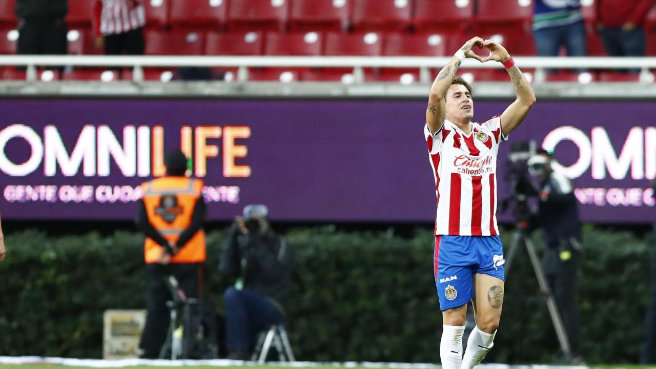Cristian Calderon goals vs America
