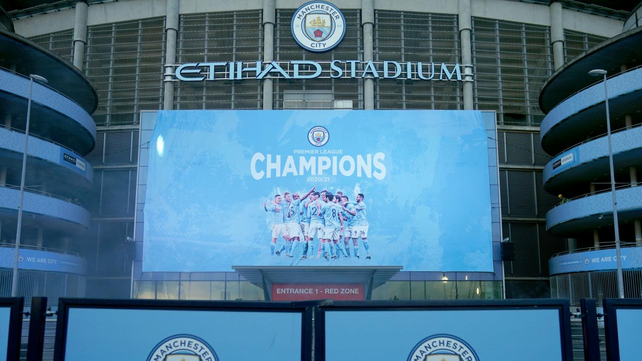 Manchester City Premier League champion