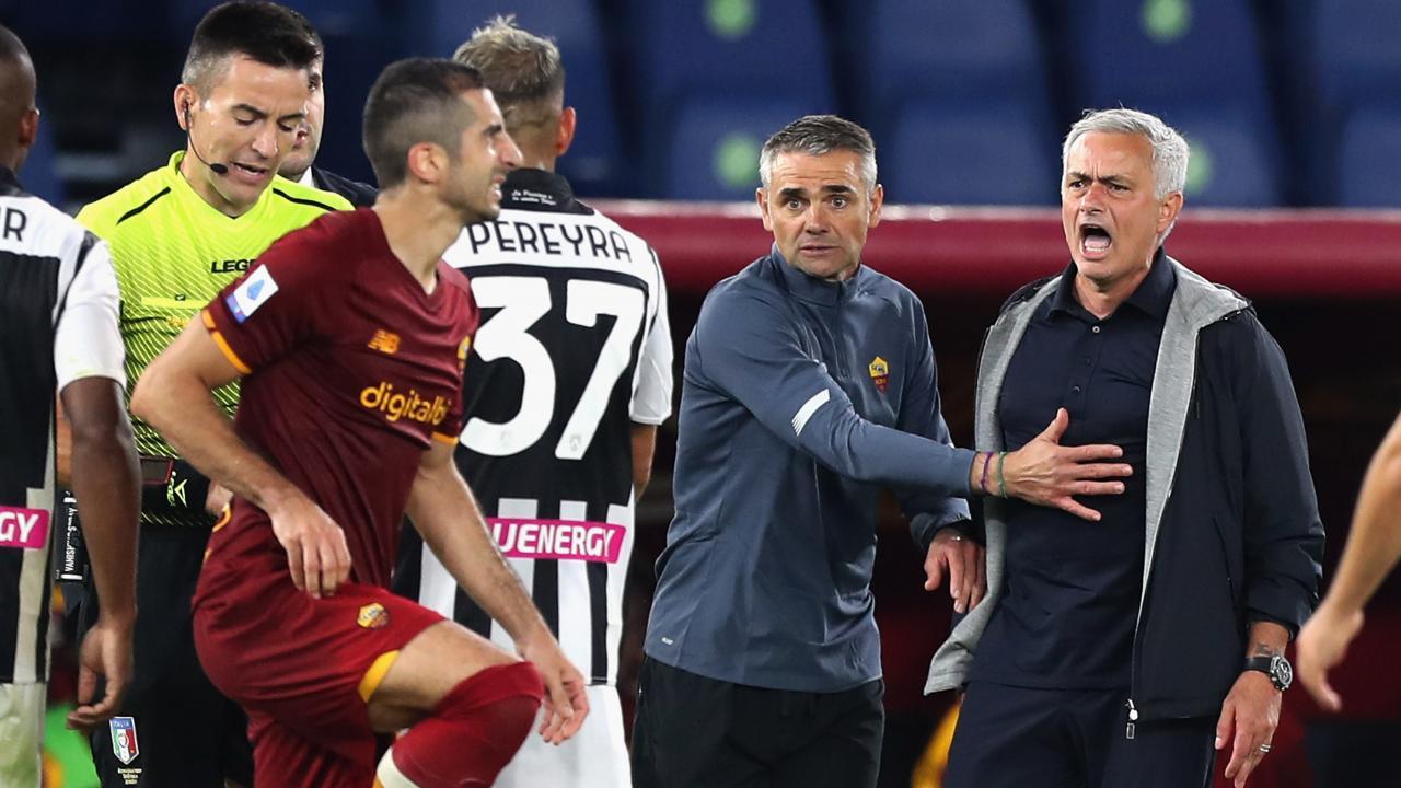 Referee post match interview