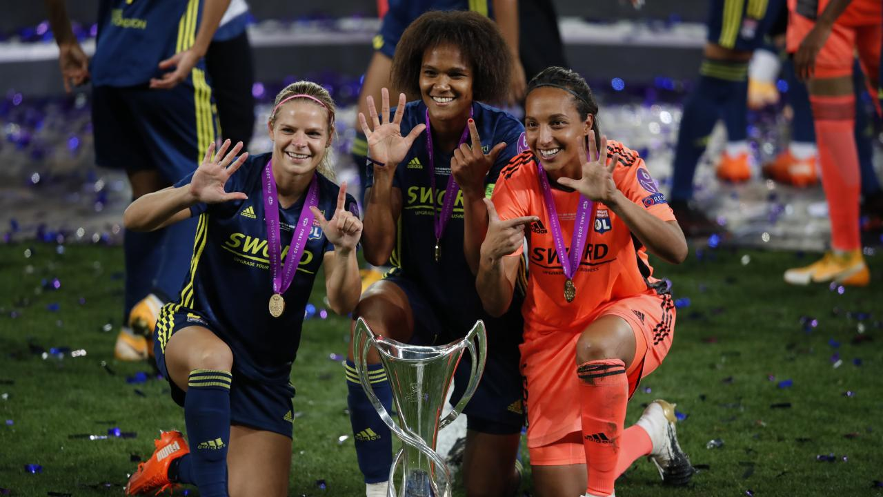 Most women's Champions League titles
