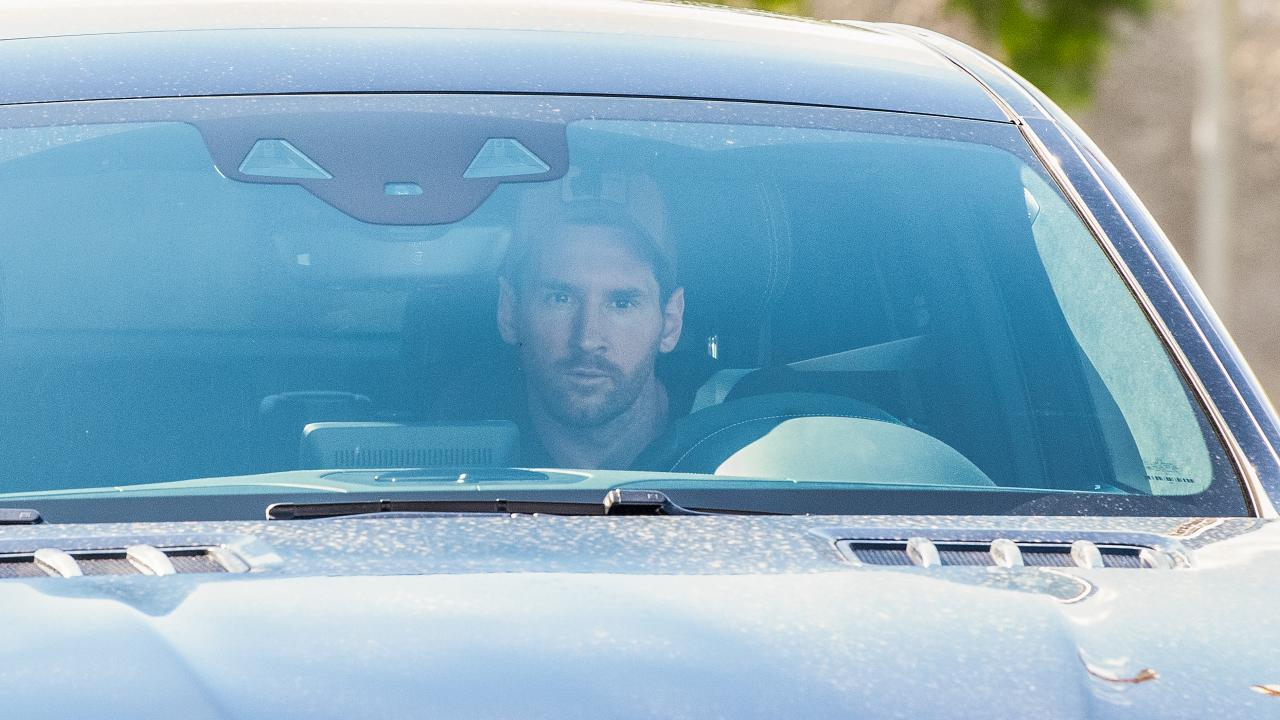 Lionel Messi Training Barcelona