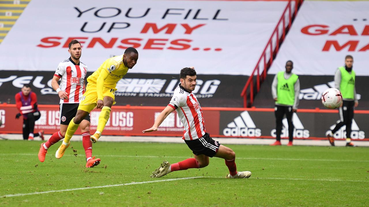 Ademola Lookman goal vs Sheffield United