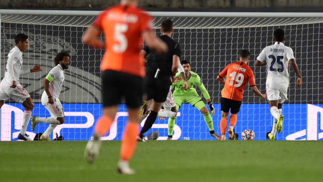 Manor Solomon goal vs Real Madrid