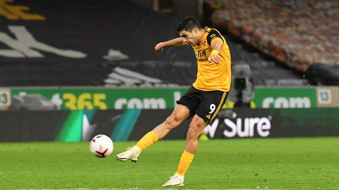 Raul Jimenez goal vs Newcastle