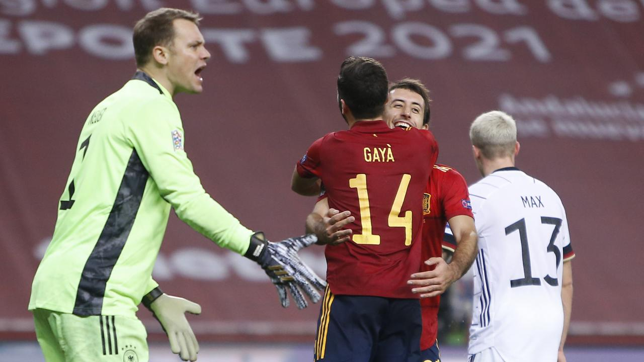 Spain 6 Germany 0
