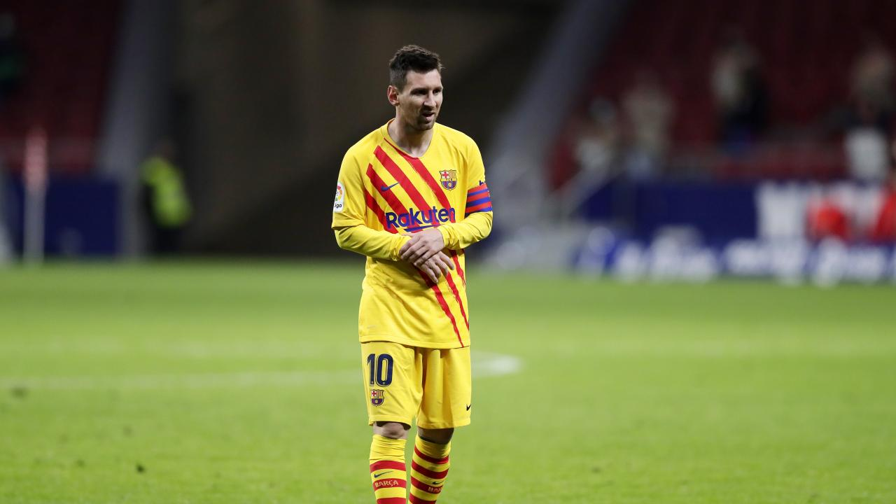 Lionel Messi rested